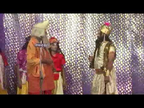 Ram vanavas ramlila by raghvendra kala sansthan kota on National Dashara mela kota 9414392359