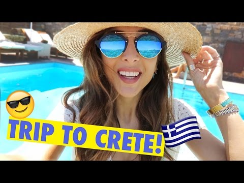 THE START OF AN EPIC GIRLY HOLIDAY! | Amelia Liana Crete Vlog