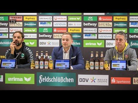 13. Spieltag | SGD - SGF | Pressekonferenz nach dem Spiel
