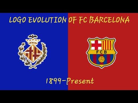 The Evolution Of FC Barcelona Logo 1899-present - YouTube