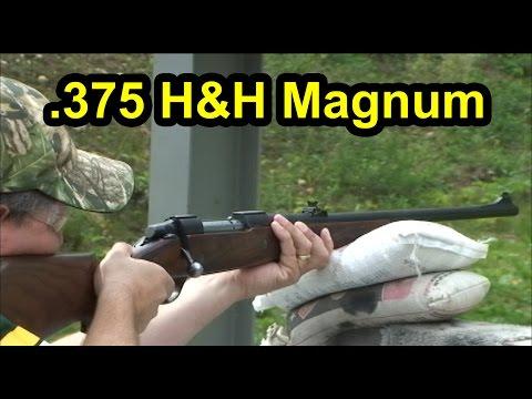 .375 H & H Magnum Africa Gun - Schultz Gun Club Muskego Wisconsin