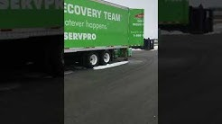 SERVPRO Large Loss Trailer Disaster Recovery Team Nichols
