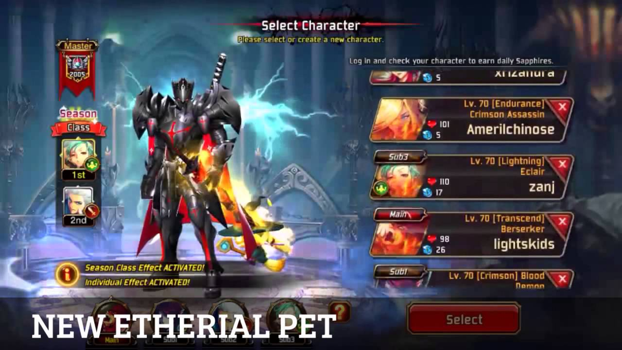 Kritika The White Knights  Android  My New Etherial Pet  Patch 224