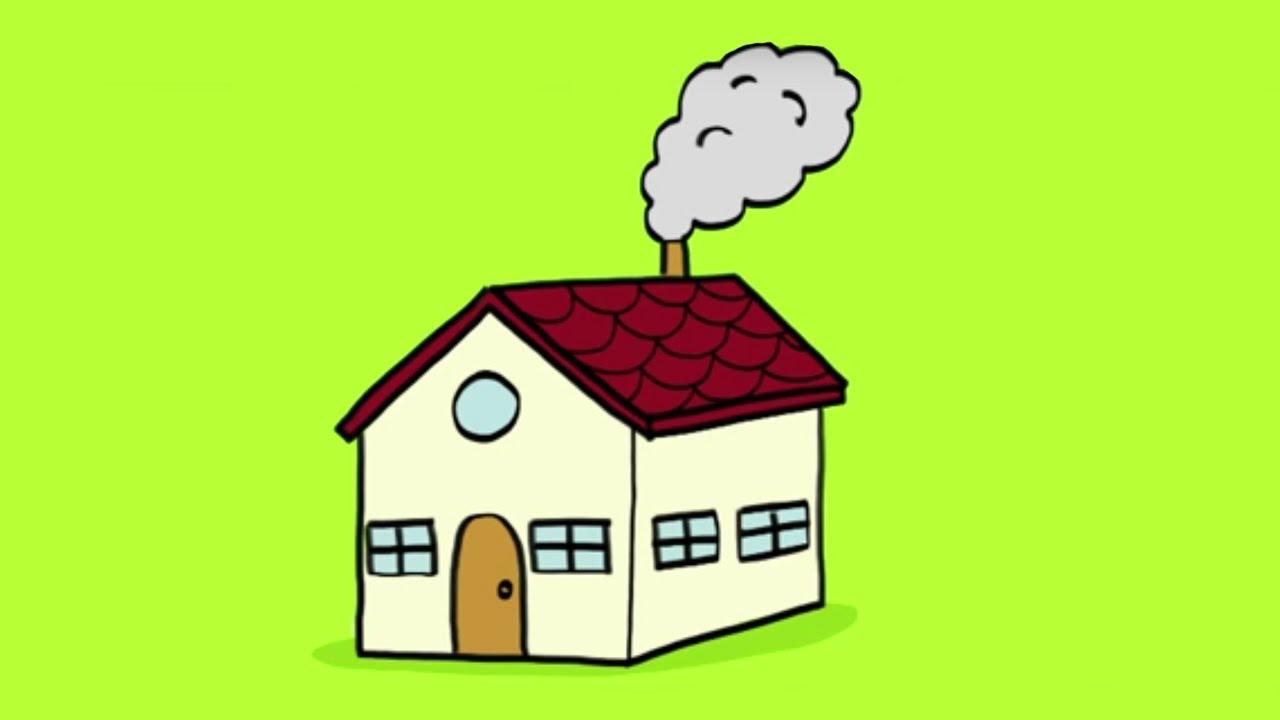 Apprendre dessiner une maison youtube - Comment faire une bougie maison ...