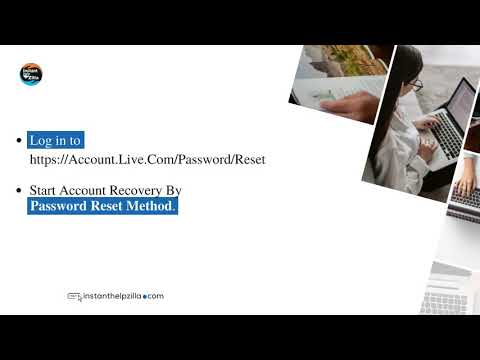 How to recover Outlook Account?