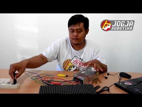 Jorobo Tutorial: Setting Dan Pemrograman Modul Led P10 RG - Controller HD-W64 WIFI (HD2016)
