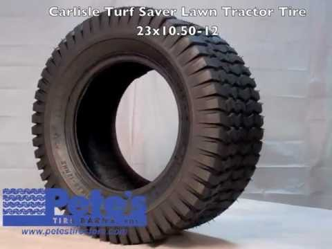 Carlisle Turf Saver Lawn Tractor Tire 4 Ply Youtube