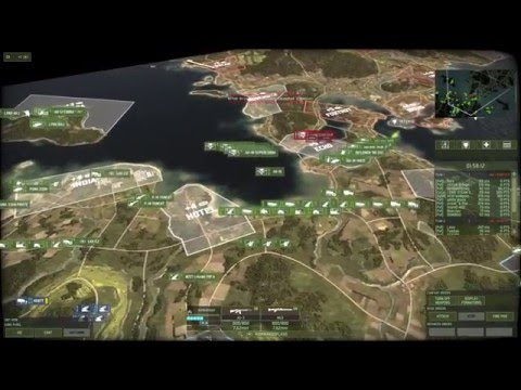 Wargame Red Dragon Gameplay 10: Strait 10v10(Extremely Long Round)