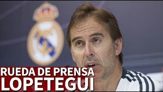 Real Madrid-Levante | Rueda de prensa de Lopetegui | Diario AS