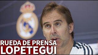 Real Madrid-Levante | Rueda de prensa de Lopetegui | Diario AS