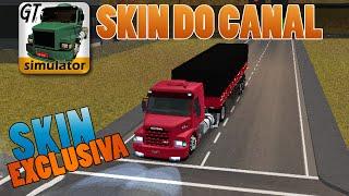 Grand Truck Simulator - Skin Exclusiva - Conjunto Scania 113h do Canal