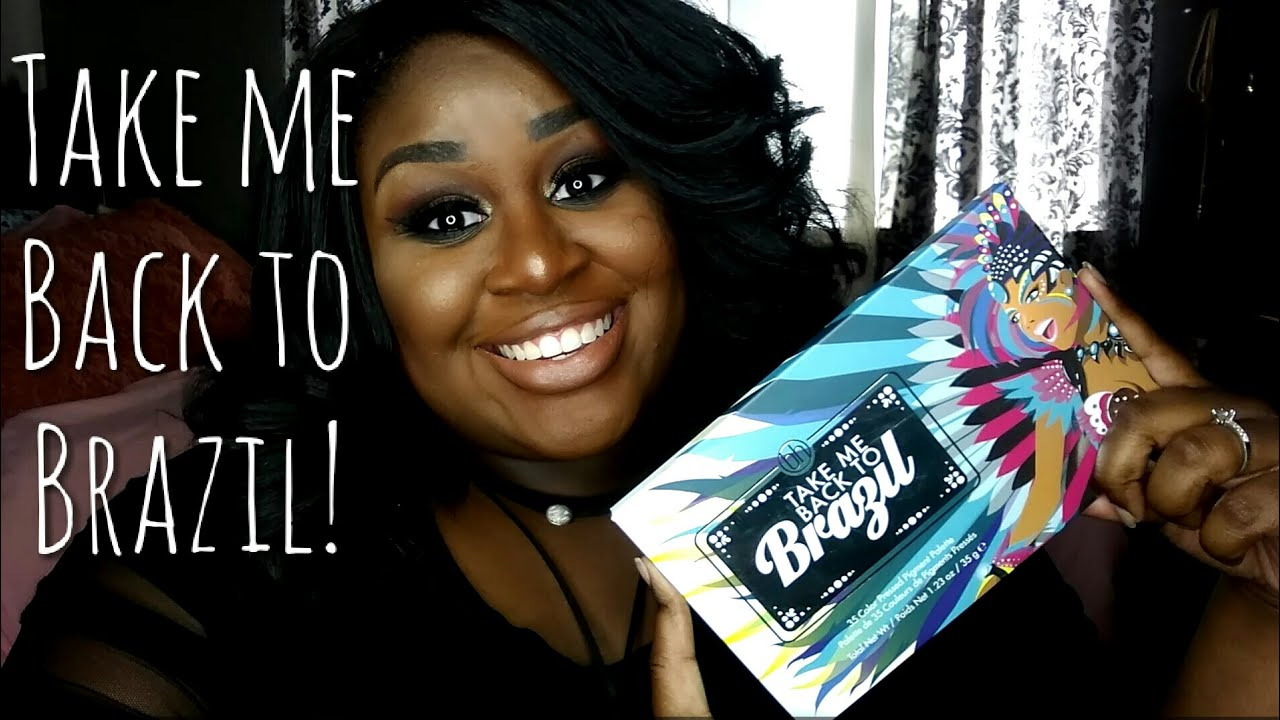 take me back to brazil palette review bh cosmetics youtube. Black Bedroom Furniture Sets. Home Design Ideas