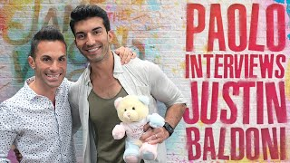"""Jane The Virgin"" Star Justin Baldoni gets emotional"