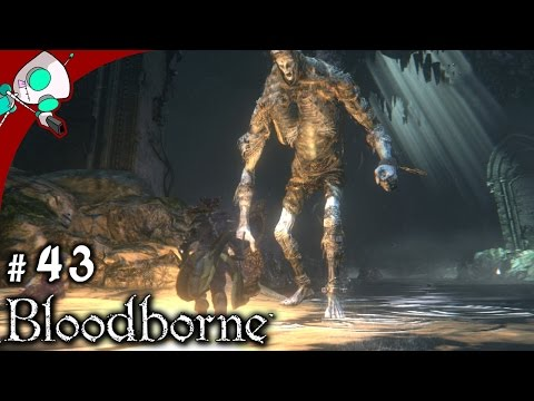 Let's Play Bloodborne (PS4) #43 Forbidden Woods, Poison Cave