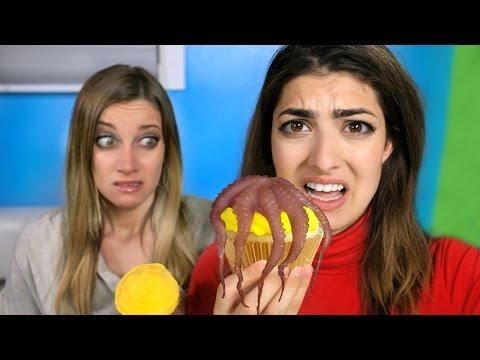Gross Cupcake Challenge!