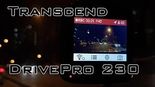 Transcend DrivePro 230 Video Sample & Features