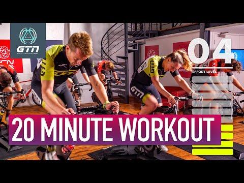 Fat Burning Interval Session | 20 Minute Indoor Bike Workout