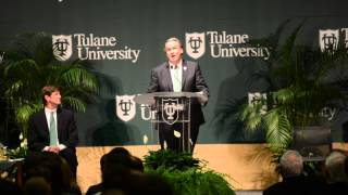 New President of Tulane University Michael A. Fitts