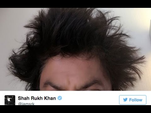 Look Who Gave Shahrukh Khan A Funky Hairstyle In Lisbon Youtube