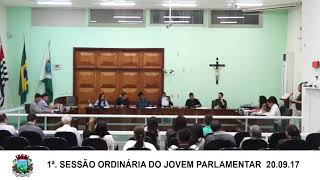 20.09.17 Sessão da Câmara do Jovem Parlamentar