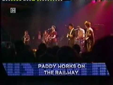 The Pogues Live 1985 - Poor Paddy,Waxies Dargle