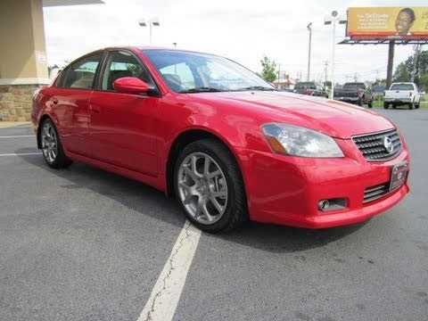 2005 nissan altima 3 5 se r start up exhaust and in depth tour youtube. Black Bedroom Furniture Sets. Home Design Ideas
