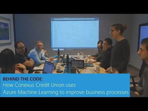 How Conexus Credit Union uses Azure Machine Learning to improve business processes