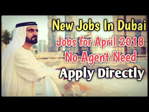 3000 AED Salary | Free Visa Jobs In Dubai | Apply Now | Dubai Jobs April 2018