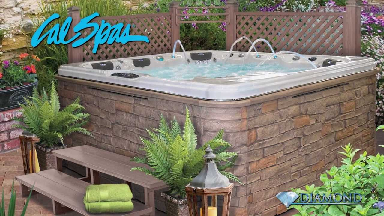 Cal Spas Hot Tubs Diamond Spa Experience The Finest In Luxury Hydrotherapy You