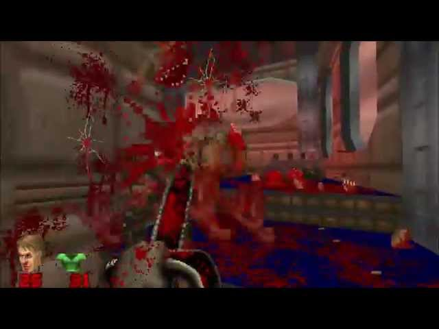 15 minutes of Brutal Doom v20 gameplay