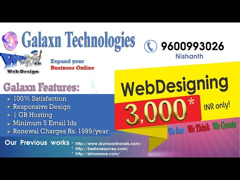 Web Design Nagercoil Kanyakumari Low Price Web Designing Company In Nagercoil Galaxn Tech Youtube