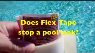 Does Flex Tape work?