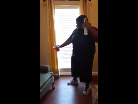 Me on my off day! Dancing to Azz and Titties.