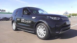 Ленд Ровер который Вам понравится!!! Land Rover Discovery 5 HSE Td6. Обзор и Тест Драйв.