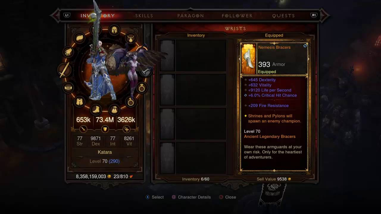 Diablo 3 - [Monk Build] - PS4