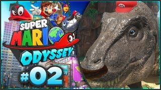 Super Mario Odyssey - Cascade Kingdom 100% Walkthrough! [Part 2]