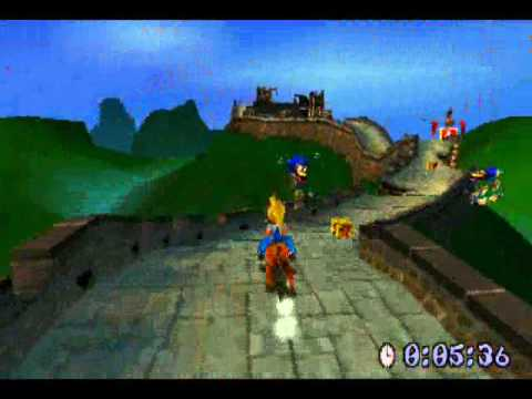 Crash Bandicoot 3: Warped - 04 - Orient Express Platinum Relic