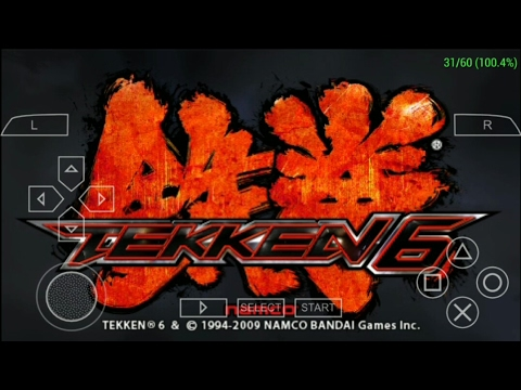 Tekken 6 PPSSPP Gold 1.3.0.1  Android No Lag (2017)