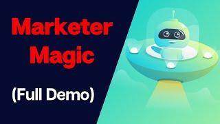 Marketer Magic Review - #1 Marketing & Conversion Platform (Full Demo)