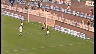 Roma-Milan  F  Coppa Italia 2002-2003  ANDATA