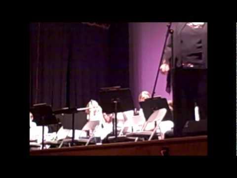 Band Wilmington Ma School band Dec 08