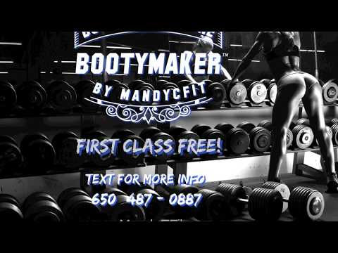 BootyMaker™ Class with @MandyCFit at The Palm Beach Gym!