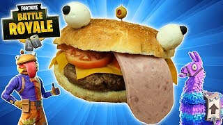 DURR BURGER 🍔 de FORTNITE GIGANTE😋!! ft  Dacosta´s Bakery