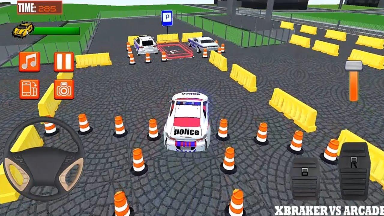 Police Car Parking Mania 3d Simulation Police Cars