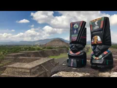 Pyramid of the Sun & Moon by SP� [in 4K - HD Quality]