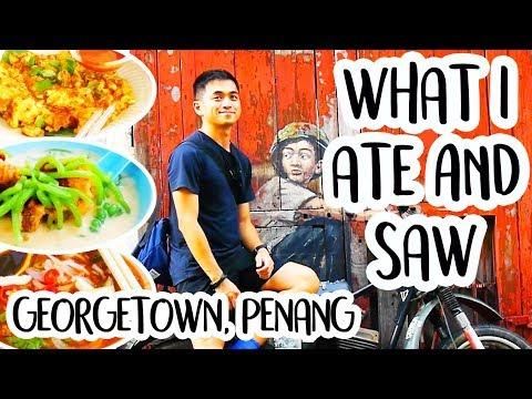 MALAYSIAN FOOD IN PENANG | Street Art GEORGETOWN PENANG