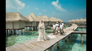 Свадьба на Мальдивах Игоря и Марии