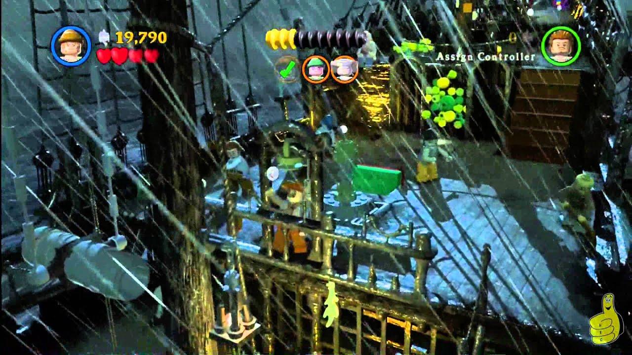 Lego Pirates Of The Caribbean Level 8 The Dutchmans Secret Story