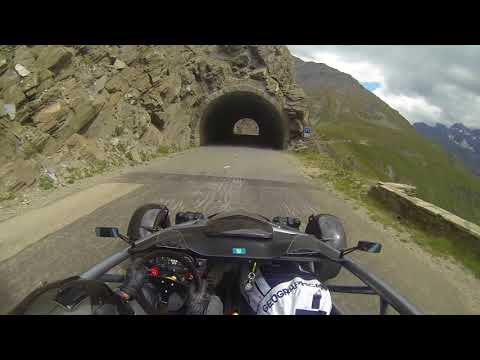 Ariel Atom on amazing  mountain road