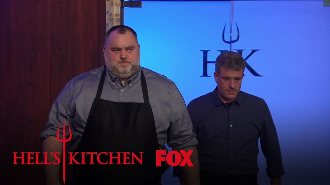 Guest judges david mcmillan and fr d ric morin arrive for Watch hell s kitchen season 16